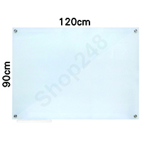 Magnetic Tempered Glass Whiteboard 磁性強化玻璃白板 120x90cm