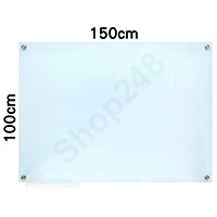 Magnetic Tempered Glass Whiteboard 磁性強化玻璃白板 150x100cm