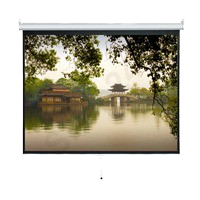 VISION 掛牆式投影屏幕 Wall Mounted Manual Projector Screen 80 x 80 吋