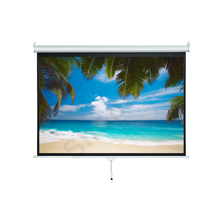 VISION 掛牆式投影屏幕 Wall Mounted Manual Projector Screen (4:3/ 100吋 - 80吋 x 60吋)