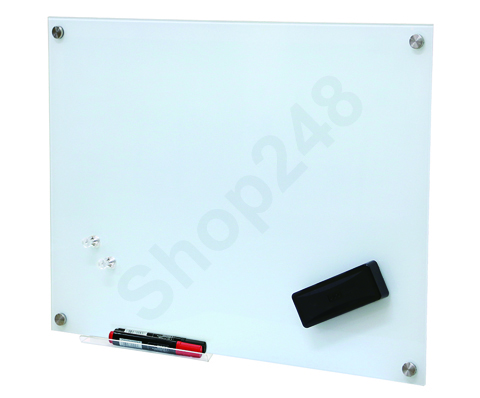 Magnetic Tempered Glass Whiteboard 磁性強化玻璃白板 90X60cm